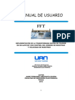 Manual de Usuario FFT