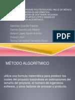 Método Algorítmico