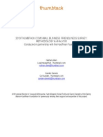 2013 Thumbtack.com Small Business Friendliness Survey