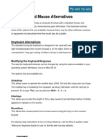Factsheet Keyboard Mouse Alt