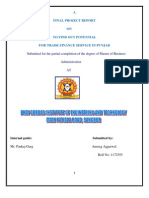 to find out the poential for trade finance service in punjab.pdf
