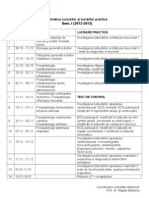 Tematica Curs LP Fiziopatologie Sem I 2012-2013