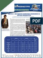 Boletin Tierra Productiva Bolivia