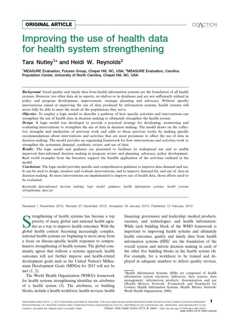 null   Evaluation   Health Informatics