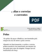Polias e Correias e Correntes