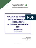 Avaliação de Desempenho nos Hospitais Públicos