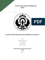 Resume Juknis Risiko (Audit Keuangan Sektor Pemerintah)