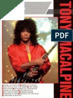 Tony MacAlpine Super Guitarist Series