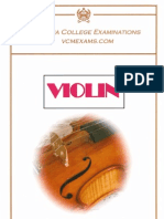 Violin Syllabus 2013