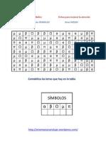 Matriz Simbolo Nivel Medio 1