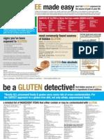 Gluten Infographic presented by Balanced Bites