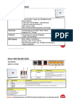 Alice IAD 3232 WLAN/DSL router manual