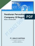 Peraturan Perusaan Pt Grace Shipping