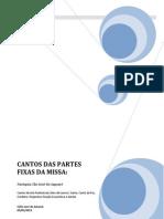 Cifras Partes Fixas Janeiro 2013