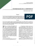 Fenomenología de la corporeidad - REVISTA HUMANIDADES UIS.pdf