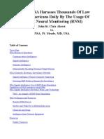 Strahlenfolter - Remote Neural Monitoring (RNM) - Remoteneuralmonitoring