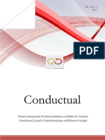 Conductual Vol 1 No 1