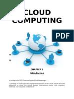 Seminar Report Cloud Computing