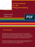 assessment strategies for reading writing workshop