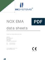 NOX E Datasheets
