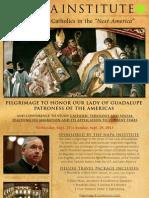 Napa Institute Pilgrimage 2013 Revised