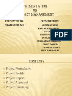 Project Mgmt Presentation(1)