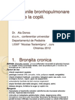 Afectiunile Bronho-Pulmonare Cr.