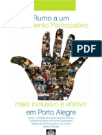 Participatory Budget in Brazil - Dissemination Report