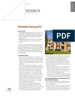 Affordable Housing 2013