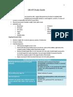 OB Study Guide