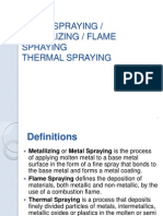 Thermal Spraying