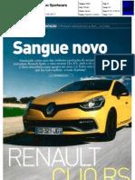 "NOVO RENAULT CLIO R.S. 200 EDC NA ""AUTO FOCO SPORTSCARS"""