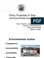 Policy Proposals to Stop Environmental Injustice - Dylan Hawkins