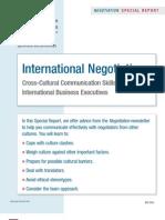 International Negotiations