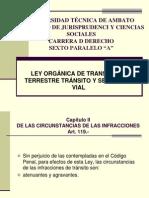 art 119-125 Explicacion ley de transito