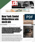 New York - Soviel Obdachlose Wie Noch Nie - Seite3_ch