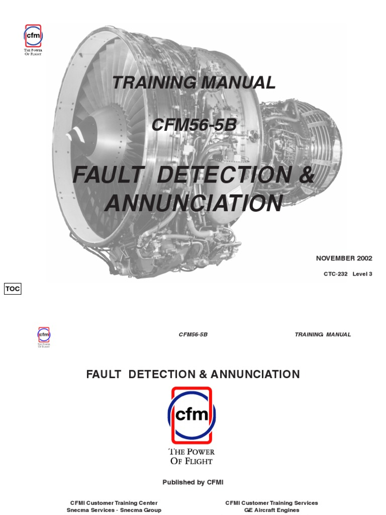 cfm56 5b fda turbine mechanical engineering rh scribd com cfm56-3 training manual cfm56-5b training manual pdf