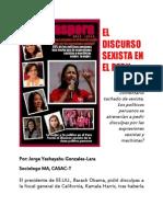 El Discurso Sexista en El Peru