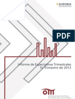 Informe de Expectativas Timestrales IV2012