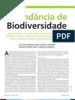Fragmentação - Abundancia de biodiversidade