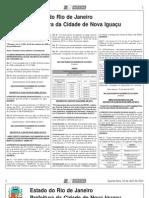 Diario Oficial de Nova Iguacu - 10 de Abril de 2013