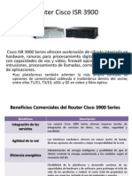 Router Cisco ISR 3900