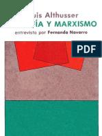 Althusser - Filosofía y marxismo