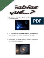 13. Datos Curiosos Del Universo