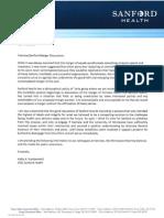 Krabbenhoft Letter
