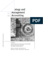 Strategy and Mgt. Accounting