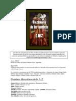 G.M.Z. - Diccionario de Los Nombres