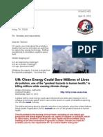 Letter to Rex Tillerson 13-04-10 Mortality