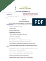 Lei 12343 Plano Nacional de Cultura - PNC
