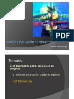5° Diagnóstico. Árbol de problemas - Población (1)